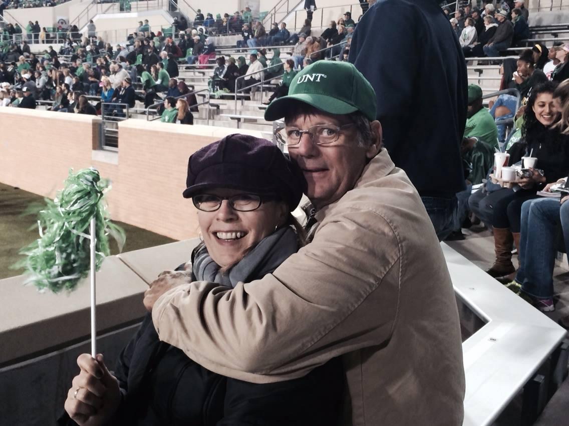 Ann and John Howington at Homecoming