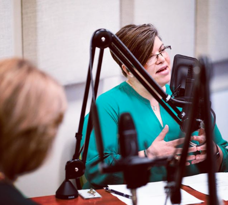 Barbara Abercrombie, Chief Human Capital Officer for the University of North Texas System is interviewed for the Bridging Gaps Podcast
