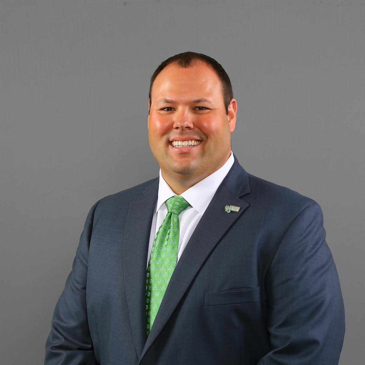 Wren Baker, Vice President and Director of Athletics for UNT