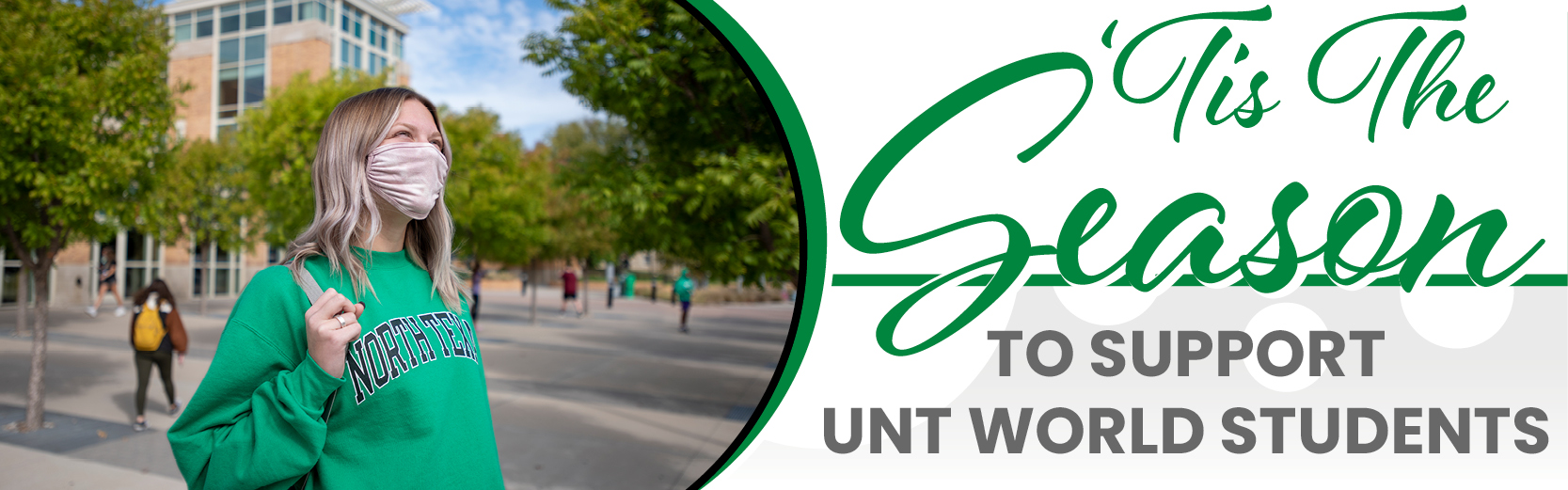 Tis the season to support UNT World students