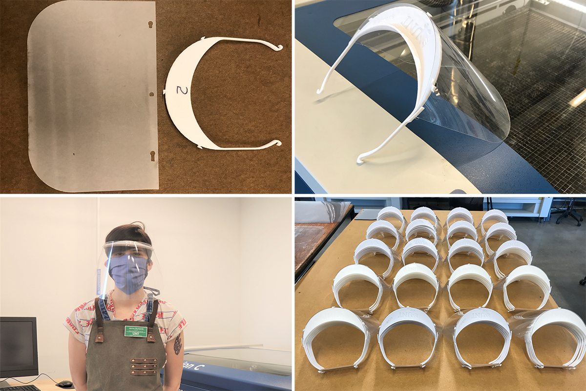 CVAD COE Collaboration Facemasks for COVID19